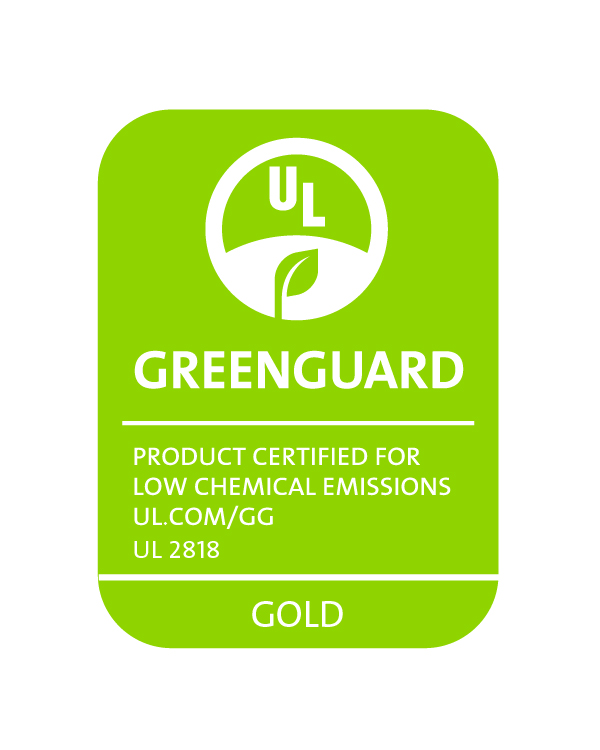 GREENGUARD_UL2818_gold_RGB_Green